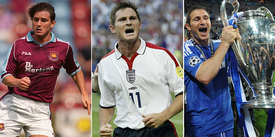 From Bolton to Barcelona: Frank Lampard's career-defining moments