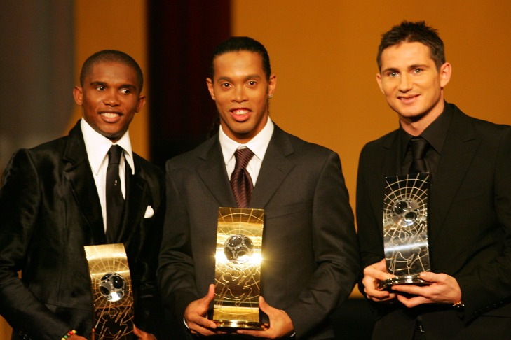 Soccer - FIFA World Player of the Year 2005 - Zurich Opera House