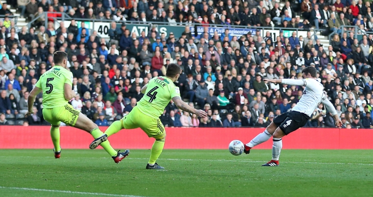 Derby County v Sheffield United - Sky Bet Championship - Pride Park