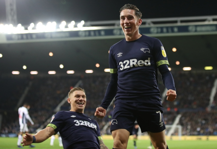 West Bromwich Albion v Derby County - Sky Bet Championship - The Hawthorns
