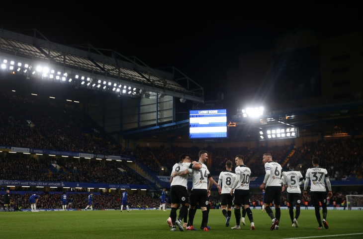 Chelsea v Derby County - Carabao Cup - Fourth Round - Stamford Bridge
