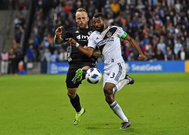 MLS: Los Angeles Galaxy at Sporting KC