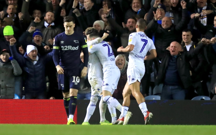 Leeds United v Derby County - Sky Bet Championship - Elland Road