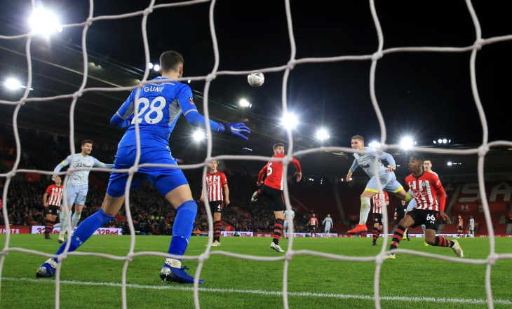 Southampton v Derby County - FA Cup - Third Round - Replay - St Mary's