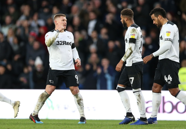 Derby County v Hull City - Sky Bet Championship - Pride Park