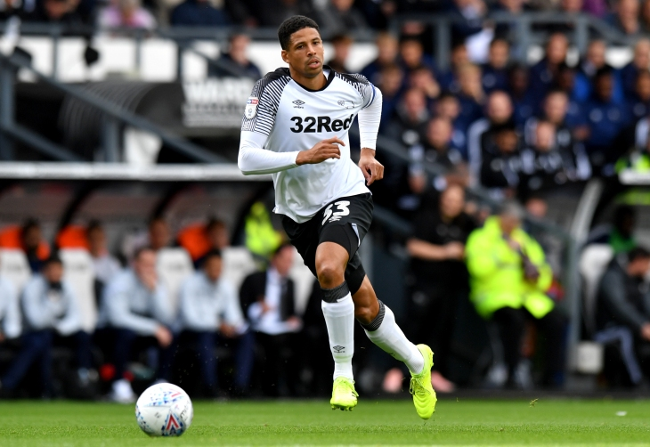 Derby v Birmingham: Curtis Davies