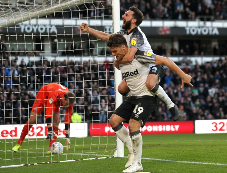 Derby County v Blackburn Rovers - Sky Bet Championship - Pride Park